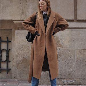 Elementy Camel Wool Coat